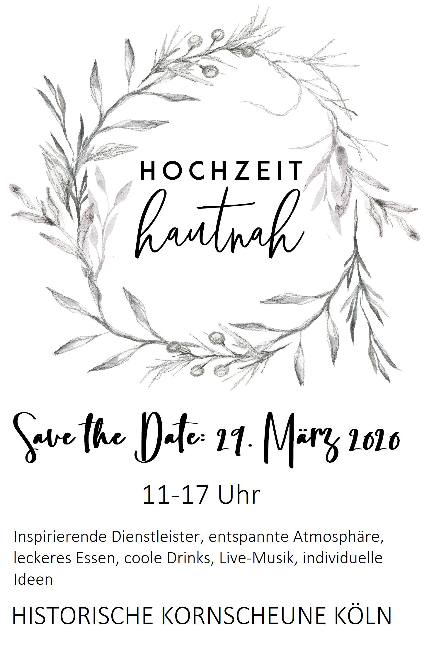 Hochzeitsmesse 2020 Köln Kornscheune